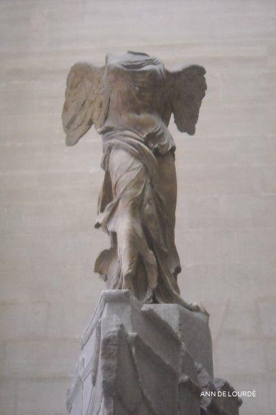 The Winged Victory of Samothrace by Samothrace ca 190, Summer 2010, Musée du Louvre, Paris, France.
