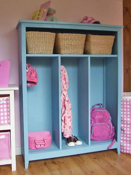diy | small locker cabinet | for when i have a mudroom.  or if ever we redo our laundry room.  this would be fantastic.