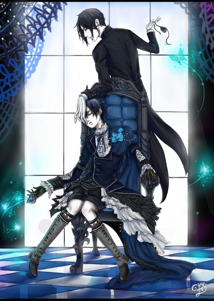 black butler ciel and sebastian relationship