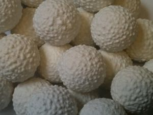 Golf Balls bubblegum- forgot all about these until I saw this pic.  Wonderful memory of the smell and texture!