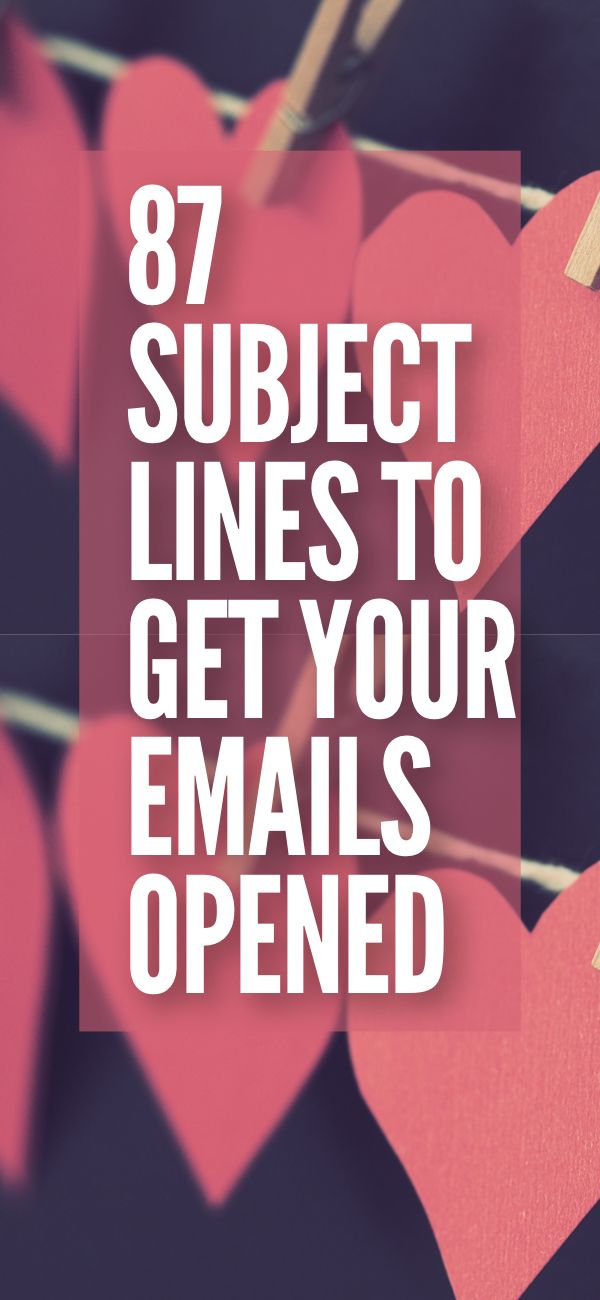 Growing your email list is only half the battle. Now you need your readers to actually open the emails your sending. Grow your business or blog with the best email subject lines. #emailmarketing #blogging #onlinebusiness (Affiliate)