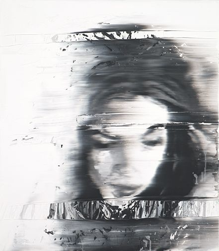 Blurred Faces In Paintings