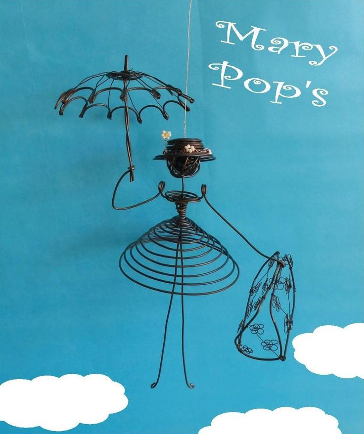 83 best Wire images on Pinterest Wire, Wire sculptures and Iron