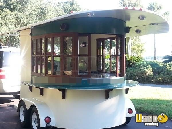Mobile Coffee Shop Trailer | kitchen trailer for Sale in Florida - This is a 2008 coffee concession trailer. Like new! Unit is ready for business! More details below.
