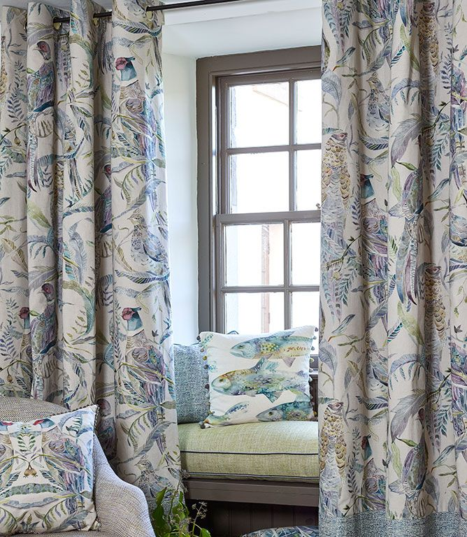 Voyage Decoration Torrington Fabric Skylark Just Fabrics
