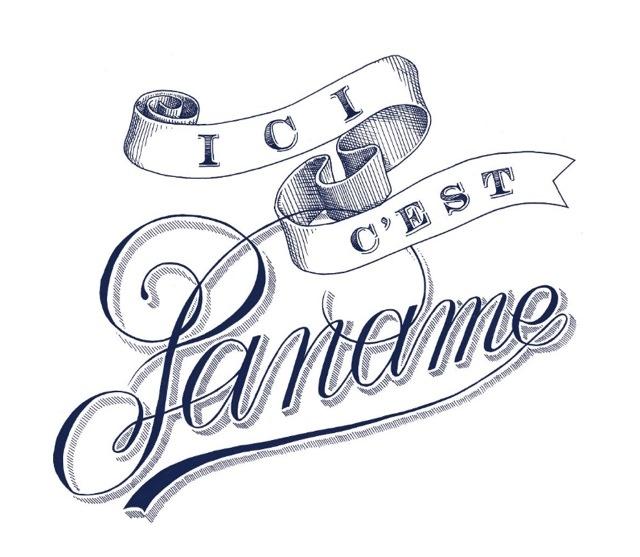 Bleu de Paname x Tyrsa #typography