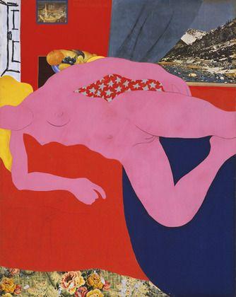 Great American Nude, 2 by Tom Wesselmann.