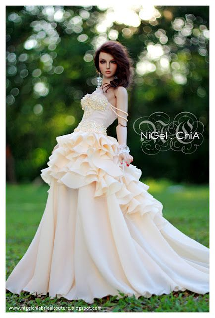 NiGel.ChiA a fashion design victim: Doll Couture Commission