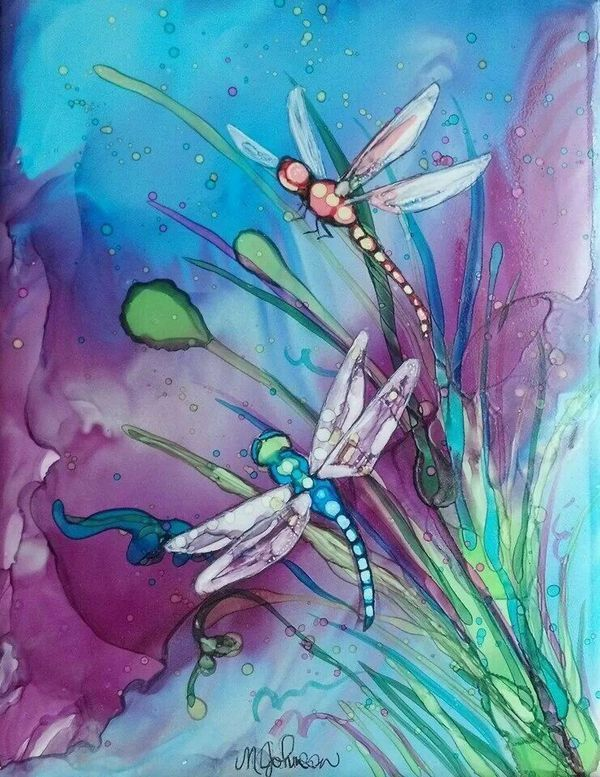 96 DIY Abstract Alcohol Ink Art Ideas – Page 5 of 10
