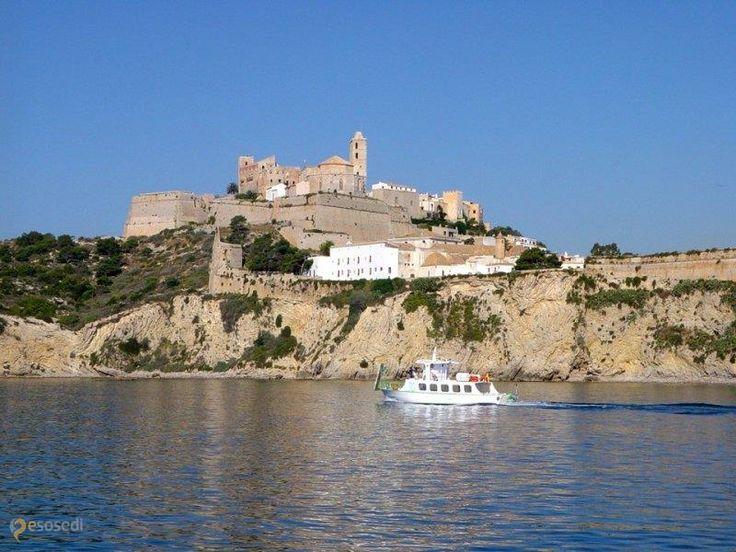 Крепость Ибица – #Испания #Балеарские_острова (#ES_PM) Крепость, которая находится в старом городе   ↳ http://ru.esosedi.org/ES/PM/1000477529/krepost_ibitsa/