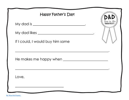 24 best Fatheru0027s day images on Pinterest Parentsu0027 day, Motheru0027s - new free coloring pages for father's day