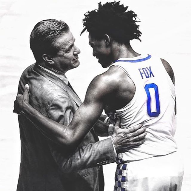One of the biggest groups/communities is the basketball team that brings people together. What is it about Kentucky basketball that brings all of the people together?