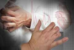 Heart attack | Missing fingers bad blood circulation occurs due to the high blood glucose levels; this causes narrowing blood vessels which leads to high blood pressure, heart attacks and eventually gangrene (caused by tissues dying due to bad blood circulation) which can lead to limb amputation.