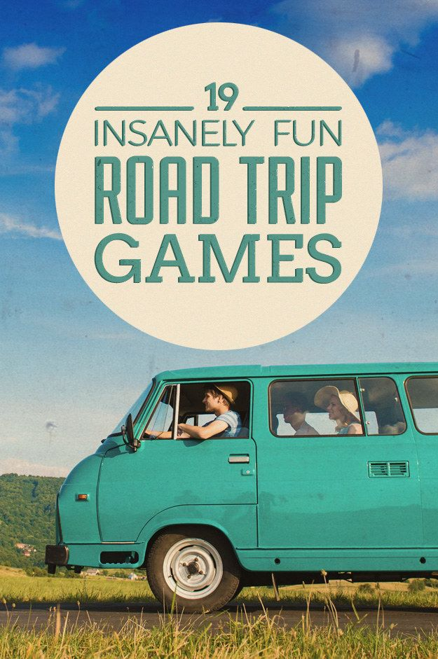 19 Road Trip Games That'll Make Car Rides So Much More Fun