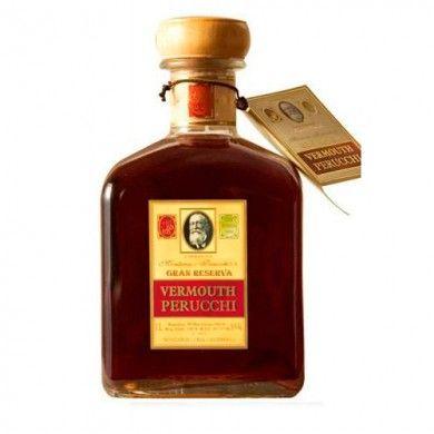 El Vermouth Perucchi es elaborado por la mítica casaMontana Perucchi que se vanagloriaba de ser la casa que suministraba el Vermut a la casa Real Española. Un Vermut Gran reserva con una receta de hiervas que lo hace muy característico y único con una presentación impecable digna de cualquier gran whisky de gran valor. Un vermut imprescindible en cualquier colección de vermut. precio7,95 €