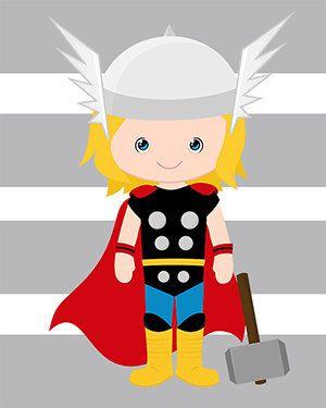 PICK 6 superhéroe de la pared impresiones por AmysSimpleDesigns
