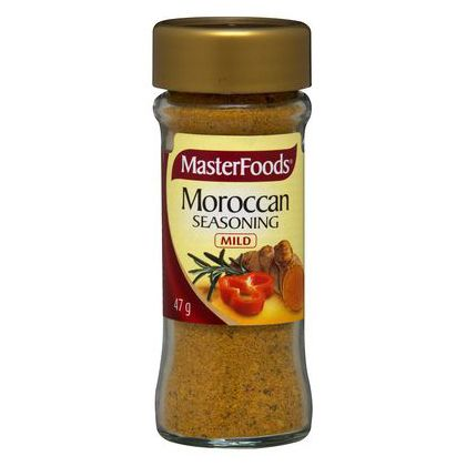 Moroccan Seasoning – MasterFoods 47g | Shop Australia