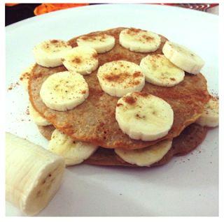 Projeto Paulinha Fit: Panqueca Proteica de Banana