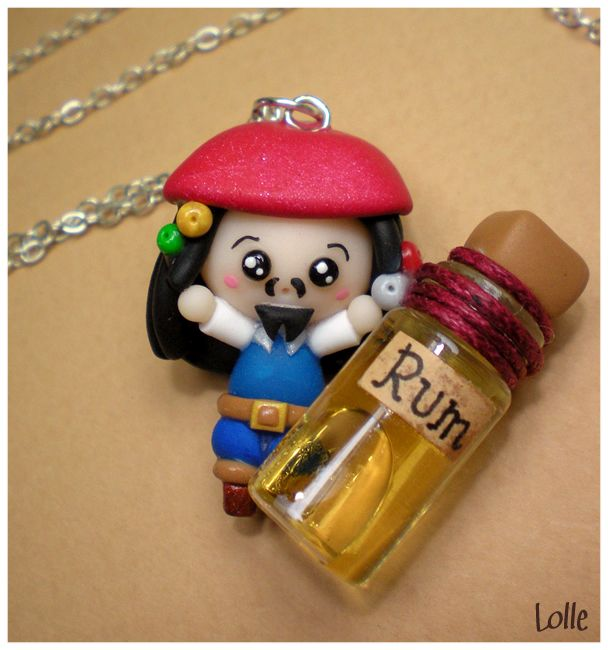 deviantART: More Like Fimo Siren in a bottle by ~LolleBijoux