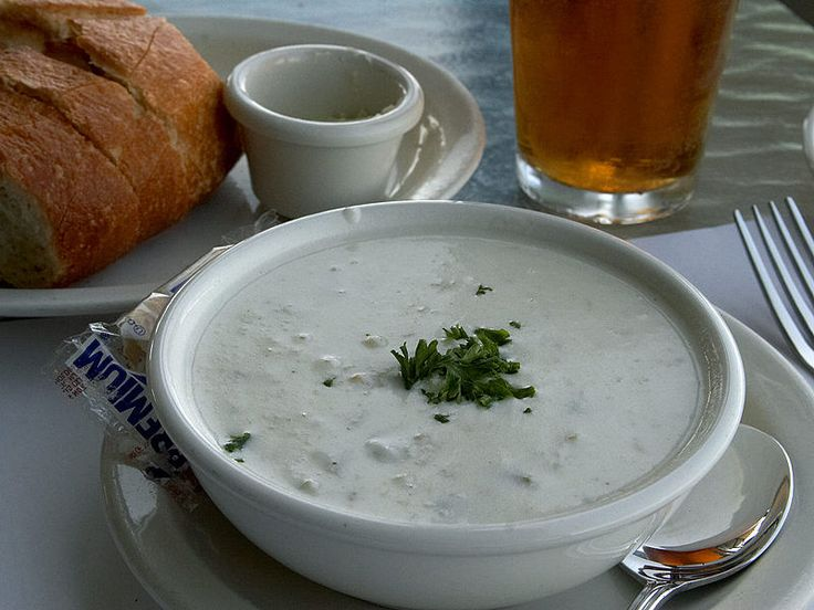 Copycat recipe - Legal Seafood New England Clam Chowder #copycat