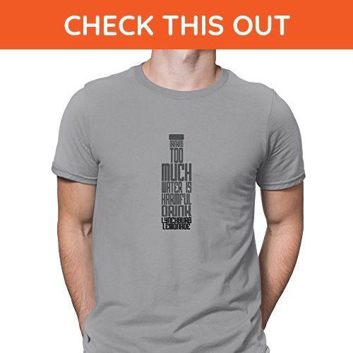 Teeburon Drinking too much water is harmful Drink Lynchburg Lemonade T-Shirt - Food and drink shirts (*Amazon Partner-Link)