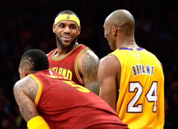 LeBron James alaba la carrera de Kobe Bryant en la NBA