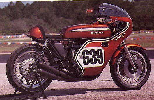 Honda CR750 - Austrália (1970)