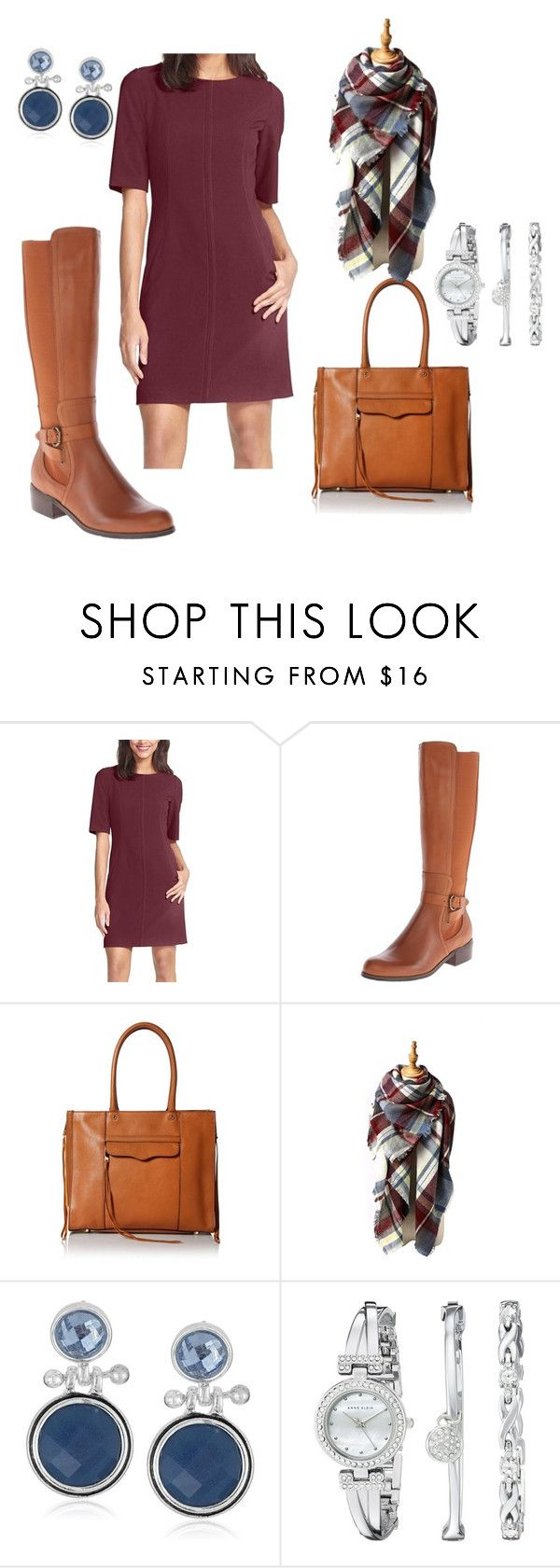"""Amazon - Boots for Work"" by herstyleandgrace on Polyvore featuring Corso Como, Rebecca Minkoff, Napier and Anne Klein"