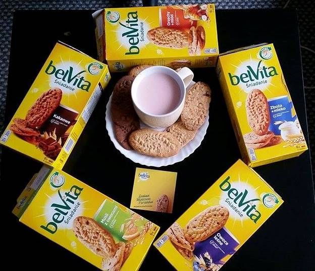 Ciastka śniadaniowe zbożowe Belvita wygodne rozwiązaniem dla zabieganych i każdego kto chce urozmaicić swoje śniadanie Emotikon smile  Są źródłem witamin i minerałów oraz błonnika.A wyjątkowa receptura dostarczy każdemu energii na cały poranek :) #żona #zakreconapanidomu #dlaMistrzówPoranka #belvita #streetcom