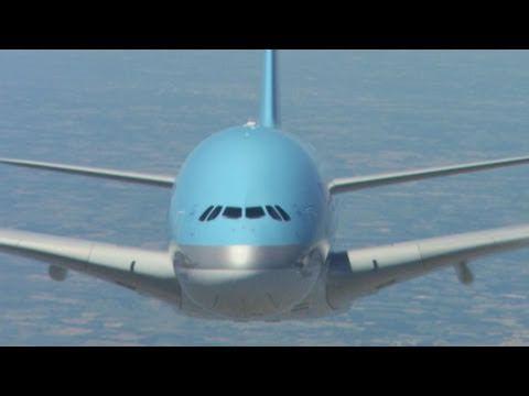 Amazing shots of Airbus A380 (Korean Air) in HD
