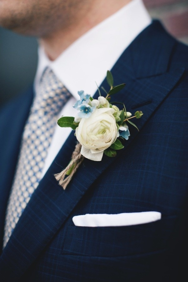 Love the jacket, the boutonniere is great but I'd like a succulent