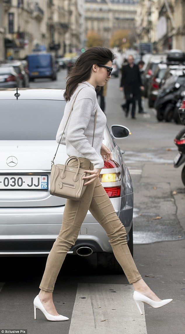 It girl: Kendall has established herself as a credible force in modelling this year, walki...