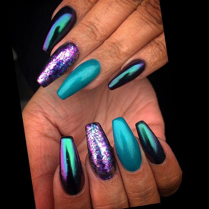 25 +> Das ist wunderschön! Ich frage mich, wie sie aussehen würden, wenn sie kürzer wären … ??? – Fingernägel