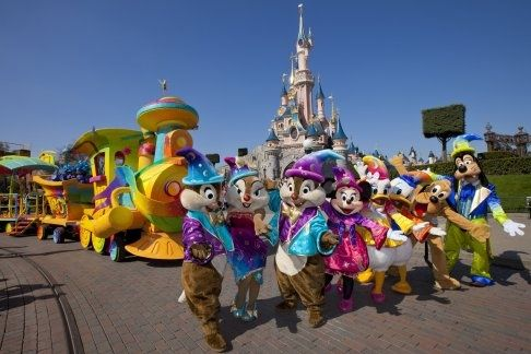 Disneyland® Paris comprises two world class theme parks (Disneyland® Park and Walt Disney Studios® Park) and seven Disney themed hotels.