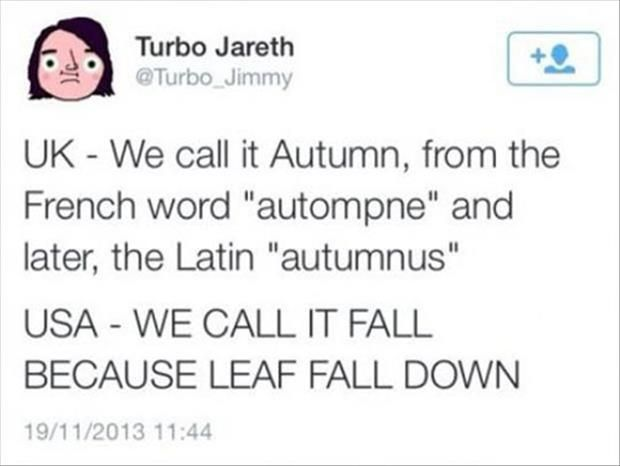 Image result for america fall england autumn textpost