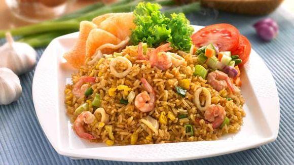 Resep Nasi Goreng Seafood Istimewa