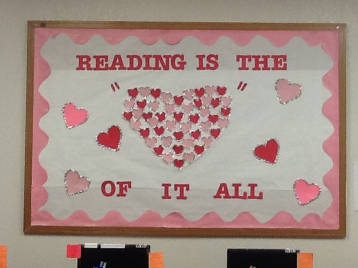 Valentines Day Bulletin Board Ideas For Library Nemetas