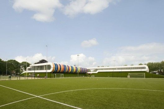 Sports Facility Strijp | LIAG architects | Eindhoven, The Netherlands