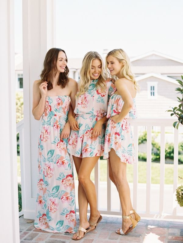 4c181f16d2a Bridesmaid Gift Ideas  50 Printed Bridesmaid Robes   Rompers