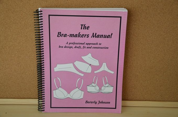 The Bra-makers Manual Volume 1 by Beverly Johnson by EmeraldSewingChest on Etsy
