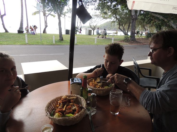 Lunch at Horseshoe bay