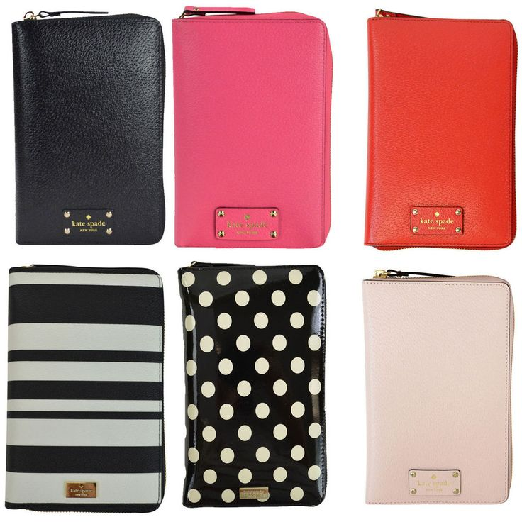 NEW Kate Spade Wellesley Zip Personal Organizer Planner Agenda ON SALE! | Clothing, Shoes & Accessories, Women's Accessories, Organizers & Day Planners | eBay!