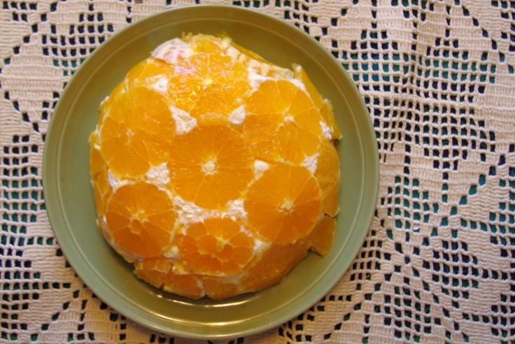 Orange cake for spring time!