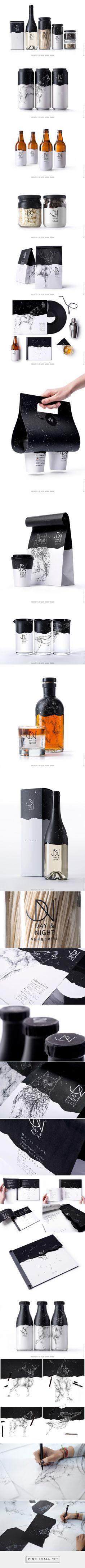 Day & Night packaging designed by Backbone Branding (Armenia) - http://www.packagingoftheworld.com/2016/03/day-night.html
