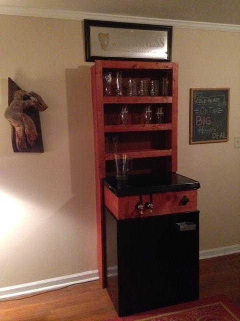 diy kegerator converted freezer