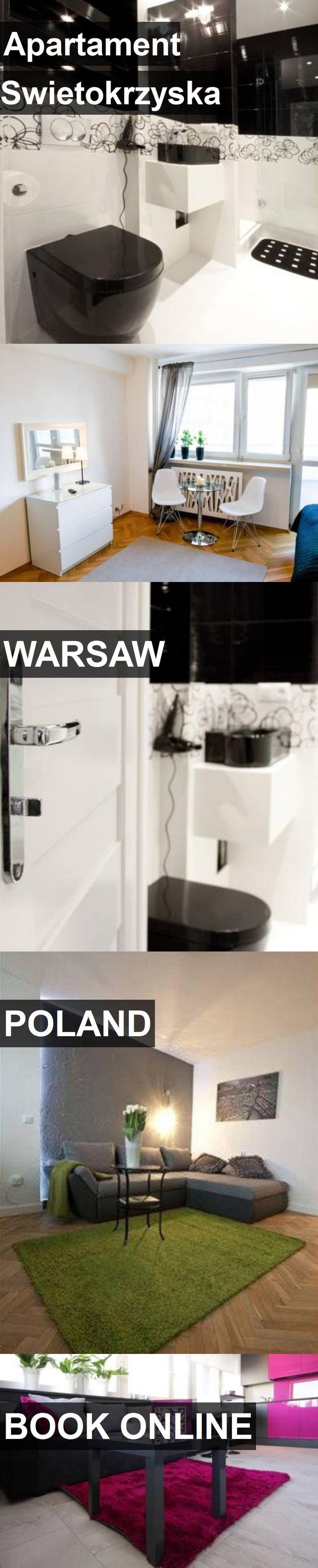 Hotel Apartament Swietokrzyska in Warsaw, Poland. For more information, photos, reviews and best prices please follow the link. #Poland #Warsaw #travel #vacation #hotel