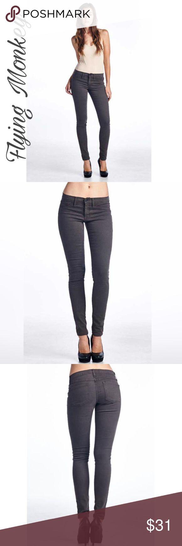 💝HP 2-8-17💝Flying Monkey Jeans Skinny Jeggings💝 💝Back to Basic Host Pick💝Grey skinny jeggings. 💝 Flying Monkey  Jeans Skinny