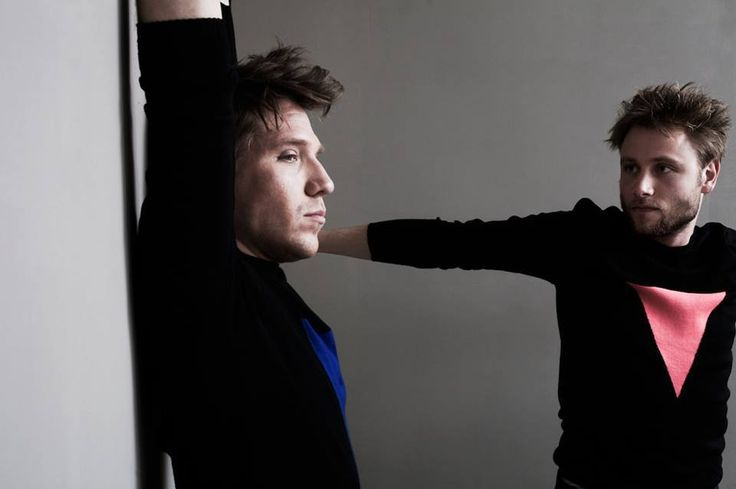 Max Riemelt und Hanno Koffler for Interview Magazine Germany (Photos: Jonas Lindstroem, Styling: Klaus Stockhausen)