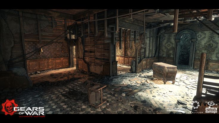 Splash Damage Art team - Gears of War : Ultimate Edition - Art Dump - Polycount Forum