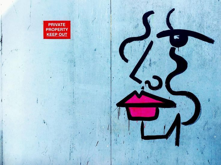 Private property. Keep out.  #photooftheday #streetart #london #art #urbanart